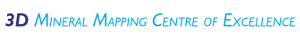 Centre for 3D Mineral Mapping logo